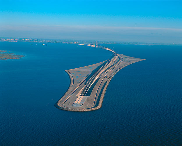 Bridge-Connecting-Sweden-to-Denmark