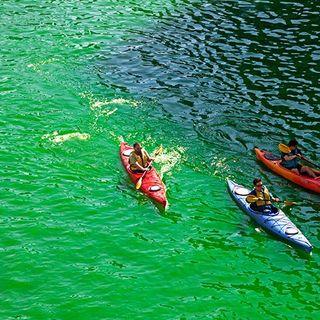 St Patricks Day River